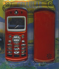 Motorola C333 Phone Housing Glossy Honey Red