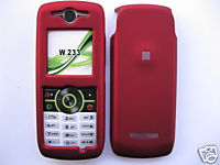 Red Crystal Case For Motorola W233